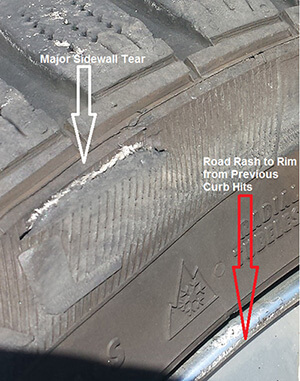 sidewall failures Willis Law Firm
